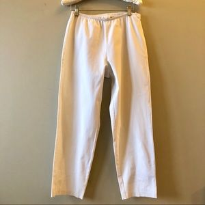 Eileen Fisher ivory stretchy pants